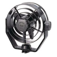 Turbo Fan Multi Directional Black 24V