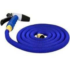 HoseCoil Expandable Hose Kit, 25 ft w/Nozzle & Bag