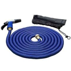 HoseCoil Expandable Hose Kit, 50 ft w/Nozzle & Bag