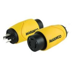 Marinco Straight Adapter 15A Male Straight Blade To 50A 125/250V
