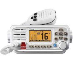 VHF Radio IC-M330 DSC Capable Fixed Mount White, IPX7