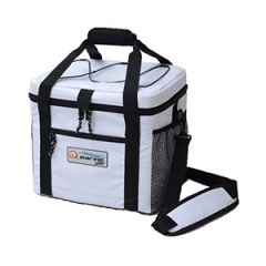 Soft-Sided Marine White Cooler, 24 Can Capacity