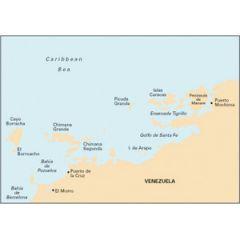 Paper Chart D131 Puerto Mochima To Bahia De Barcelona
