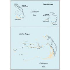 Paper Chart D22 Isla Los Roques & Isla De Aves