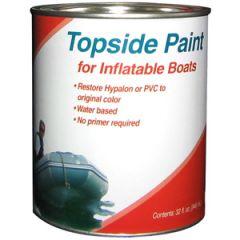 Dinghy Topside Paint Blue Liquid 1 pt