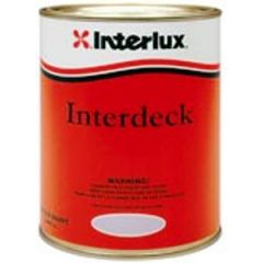 Interdeck Nonskid Deck Coating Polyurethane White 1 qt