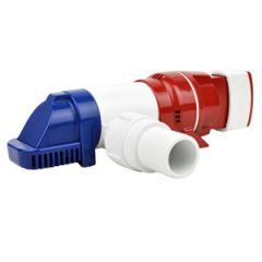 Lo-Pro Automatic Bilge Pump, 900 gph 12v w/4 different port choices