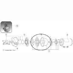 Diaphram Assembly Kit For Sensor Max Pump 18912-3040
