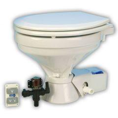Quiet Flush Electric Toilet Regular Bowl, Fresh Water, 12V
