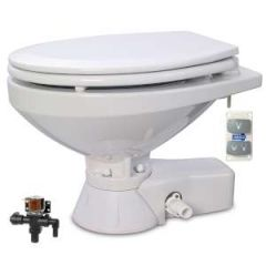 Quiet Flush Electric Toilet Regular Bowl, Fresh Water, 24V