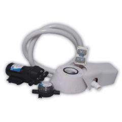 Quiet Flush Toilet Conversion Kit w/24v Pump