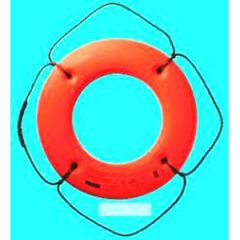 """Lifebouy Ring Solid Closed Cell Foam w/o Straps Orange 24"""""""