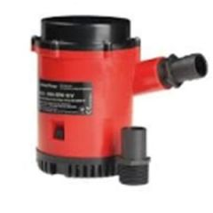 "Bilge Pump 4000gph w/1.5 & 2"" Threaded Ports"
