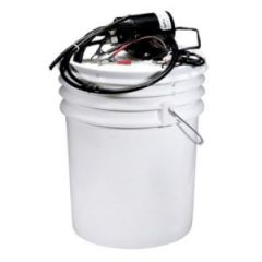 Oil Change Pump 12V w/Bucket