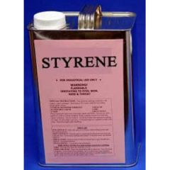 Styrene Solvent Liquid 1 qt