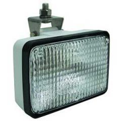 Halogen Floodlight Adjustable Stainless Steel 12V