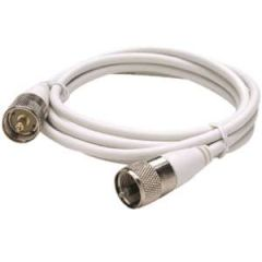 10' RG58U Coaxial Antenna Cable Assembly