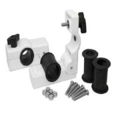 Removable Round Rail Mount Clamps