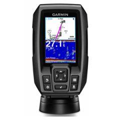 """Fishfinder, Striker 4 w/3.5"""" Color Screen, Built-in GPS & Transducer"""