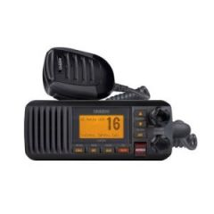 VHF Radio Solara D UM385 Fixed Mount w/DSC Black