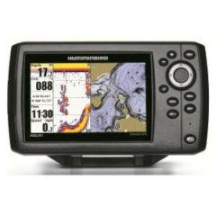 Humminbird GPS/Plotter/Fishfinder H5C w/Transom Transducer