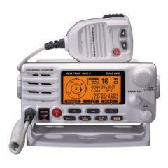 White Matrix Fixed Mount VHF Radio GX2200 w/AIS