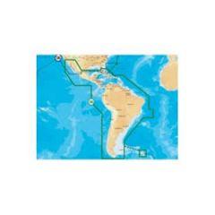 Electronic Chart Navionics Gold Plus CF/3XG For Central & South America
