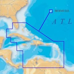 Electronic Chart Navionics MSD908P-2 For Caribbean & Bermuda