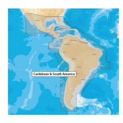 Electronic Chart Navionics Plus MSD/NAV+3XG Caribbean & SAmerica