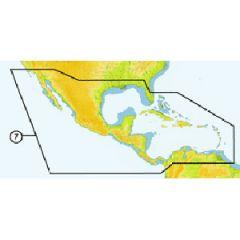 C-Map SD NAM027 4D Full Central America & The Caribbean