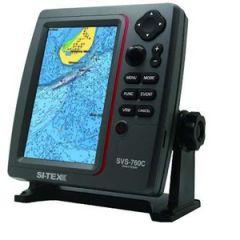 "7"" Si-Tex SVS-760CE GPS Chartplotterr w/Internal & Ext Antenna"