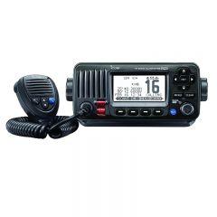 VHF Radio IC-M424G GPS & DSC Capable Fixed Mount Black, IPX7
