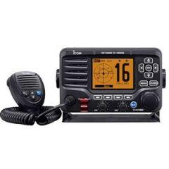 VHF Radio ICOM M506 Fixed Mount Black w/AIS & NMEA2000
