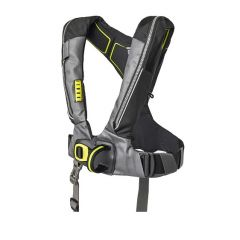 Deckvest Lifejacket 6D 170n Gunmetal Black w/Harness