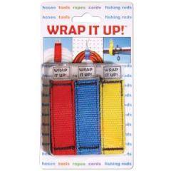 """Wrap it Up! 12"""" Hook & Loop 3 per Pack"""