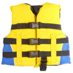 Boating Vest Child Yellow & Blue