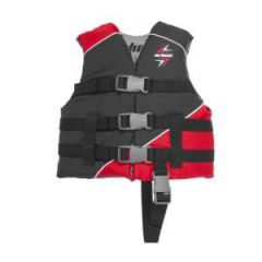 Slash Vest 4-Straps Red S/M