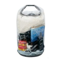"Roll Top Dry Bag Mesh Reiforced Clear 9.5"" x 16"""