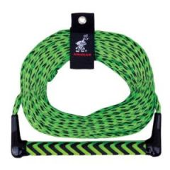 Watersports Rope w/Aluminum Core Handle w/EVA Grip