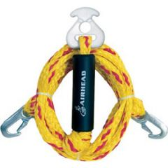 Tow Rope Harness Heavy Duty Four Rider Yellow/Red