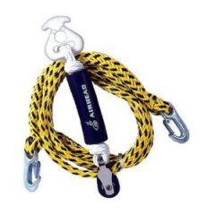 Tow Rope Harness Self Centering Two Rider Yellow/Black