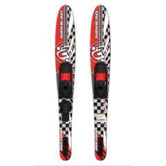 "Combo Widebody Water Skis, 65.5"" w/Adjustable Bindings US Size 5-12"