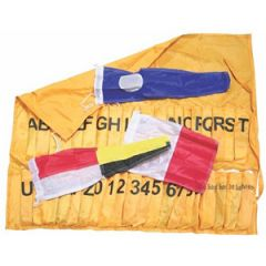 International Code Flag Set w/Holder 40/pk
