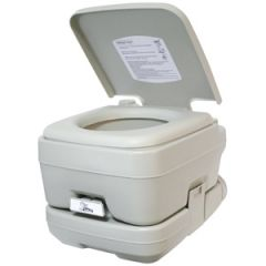 Portable Toilet w/10 L Waste Tank & Fresh 12 L
