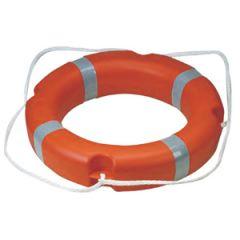 """24"""" SOLAS Lifebuoy Ring w/Rope"""