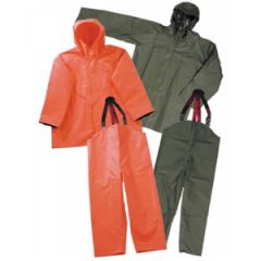 PVC Waterproof Fishing Jacket, Large