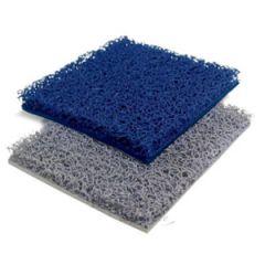 Carpet Blue w/Backing Width 120 cm