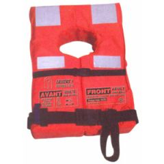 SOLAS Lifejacket Advanced Adult w/Reflective Tape Red Up To 140 kg