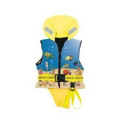 Lifejacket Chico Child w/Reflective Tape 100N Red 30-40 kg