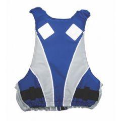 Safety Vest 50N Blue/White 40-70 kg Chest Size 80-100 cm